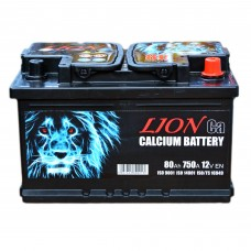 Аккумулятор LION 6СТ-80 АзЕ (R075624UN) (750EN)