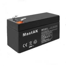 Аккумулятор тяговий MastAK MT1213 6СТ-1,3Ah АзЕ AGM