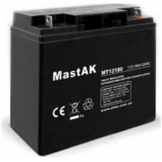 Аккумулятор тяговый MastAK MT12180 6СТ-18Ah АзЕ AGM