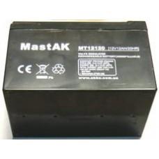 Аккумулятор тяговый MastAK MT12120 6СТ-12Ah AGM