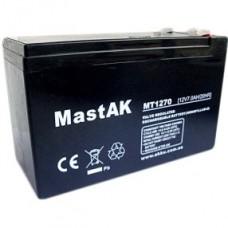 Аккумулятор тяговый MastAK MT1270AGM 6СТ-7Ah AGM