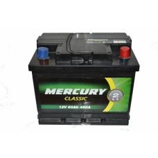 Аккумулятор MERCURY CLASSIC 6СТ-60Ah АзЕ (480EN)