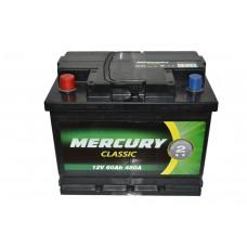 Аккумулятор MERCURY CLASSIC 6СТ-60Ah Аз (480EN)