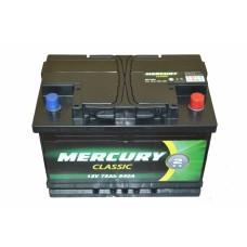 Аккумулятор MERCURY CLASSIC 6СТ-75Ah АзЕ (540EN)