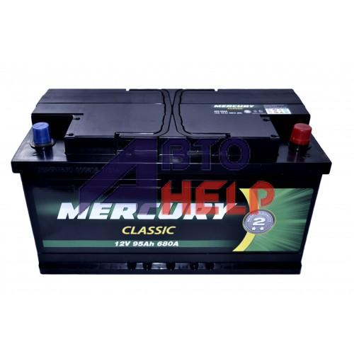 Автомобильный аккумулятор MERCURY CLASSIC 6СТ-95Ah АзЕ 680A (EN)