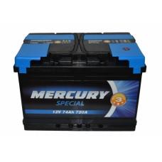 Аккумулятор MERCURY SPECIAL 6СТ-74Ah АзЕ (720EN)