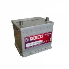 Аккумулятор Mutlu 6СТ-55Ah АзЕ Asia Silver HUNDAY (500EN) с нижн.бурт.