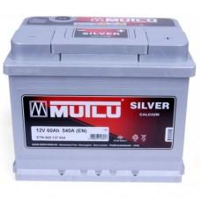 Аккумулятор Mutlu 6СТ-60Ah АзЕ Н Silver (540EN)