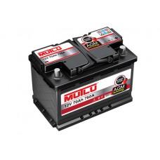 Аккумулятор Mutlu AGM Black 6СТ-70Ah АзЕ (760EN)