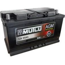 Аккумулятор Mutlu AGM Black 6СТ-95Ah АзЕ (850EN)