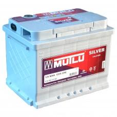 Аккумулятор Mutlu 6СТ-60Ah АзЕ Silver (520EN)
