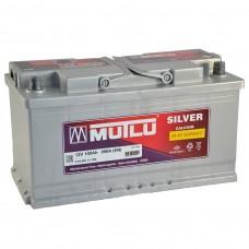 Аккумулятор Mutlu Silver 6СТ-100Ah Аз (850EN) Евро