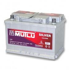 Аккумулятор Mutlu 6СТ-65Ah АзЕ Silver (720EN)