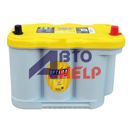 Аккумулятор OPTIMA 6СТ-66Ah YellowTop YTR-5.0L (837327000) (845EN)