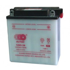 Аккумулятор мото Outdo 6СТ-5Аh AGM (12N5-3B)