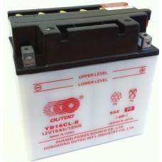 Аккумулятор мото Outdo 6СТ-16Ah (YB16L-B)