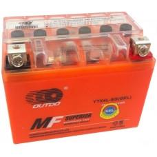 Аккумулятор мото Outdo 6СТ-4Ah GEL (YTX4L-BS)