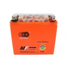 Аккумулятор мото Outdo 6СТ-5Ah GEL (YTX5L-BS)
