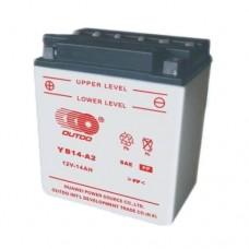 Аккумулятор мото Outdo 6СТ-14Ah (YB14L-A2)