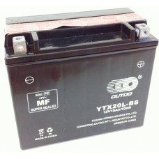 Аккумулятор мото Outdo 6СТ-18Ah AGM (YTX20L-BS)
