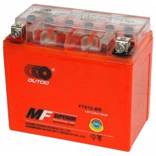 Аккумулятор мото Outdo 6СТ-10Аh GEL (YTX12-BS)