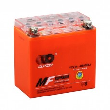 Аккумулятор мото Outdo 6СТ-12Аh GEL (YTX14-BS)