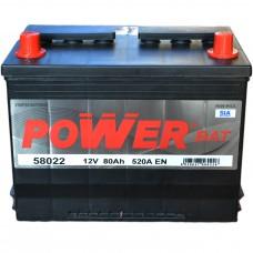 Аккумулятор Power Bat 6СТ-80 Аз Asia (58022) (520EN)