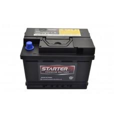 Автомобильный аккумулятор STARTER EX 6СТ-61Ah АзЕ 570A (CCA) CMF56157EU