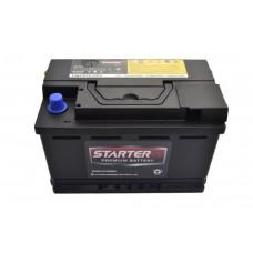 Автомобильный аккумулятор STARTER EX 6СТ-75Ah АзЕ 720A (CCA) CMF57513EU