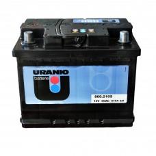 Аккумулятор URANIO 6СТ-60 Аз Black (510EN)