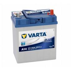 Аккумулятор VARTA Blue Dynamic A14 6СТ-40Ah АзЕ Asia ТК (540126033) (330EN)