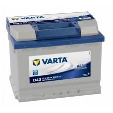 Аккумулятор VARTA Blue Dynamic D43 6СТ-60Ah Аз (560127054) (540EN)