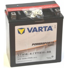 Аккумулятор мото VARTA Powersports AGM 6СТ-14Ah Аз (YTX16-BS, 514902022) (210EN)