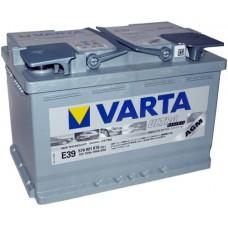 Аккумулятор VARTA Silver Dynamic AGM E39 6СТ-70Ah АзЕ (570901076) (760EN)