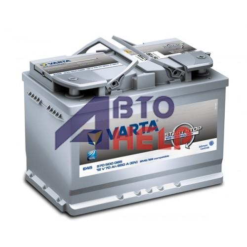 Аккумулятор Varta Blue Dynamic E45 6СТ-70Ah АзЕ (560500065) (650EN)