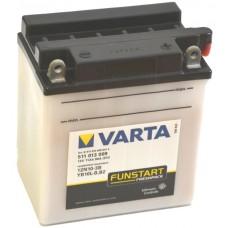 Аккумулятор мото VARTA Funstart 6СТ-11Ah АзЕ (12N10-3B, 511013009) (90EN)