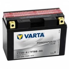 Аккумулятор мото VARTA Powersports AGM 6СТ-8Ah Аз (YT9B-BS, 509902008) (115EN)