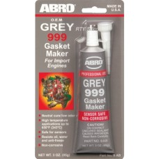 Герметик прокладки ABRO Gasket Maker 343°C серый (99-AB/9-AB) (85г)