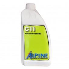 Антифриз ALPINE C11 Kuhlerfrostschutz концентрат жёлтый (1,5л)