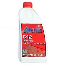 Антифриз ALPINE C12 Langzeitkuhlerfrostschutz концентрат красный (1,5л)