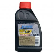 Тормозная жидкость ALPINE Brake Fluid DOT-4 LV (500мл)