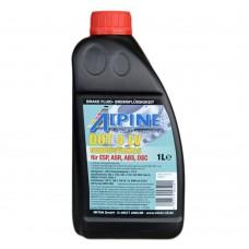 Тормозная жидкость ALPINE Brake Fluid DOT-4 LV (1л)