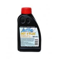 Тормозная жидкость ALPINE Brake Fluid DOT-4 Plus (500мл)