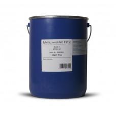 Смазка литиевая ALPINE Mehrzweckfett EP2 NLGI2 (DIN 51 502: KP2K-30) коричневая (5кг)