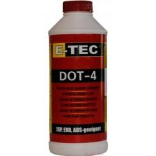 Тормозная жидкость E-Tec DOT-4 (0,5л)
