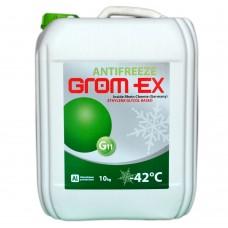 Антифриз GROM-EX G11 -42°C зеленый (10л)