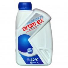 Антифриз GROM-EX G11 -42°C синий (1л)