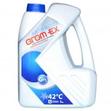 Антифриз GROM-EX G11 -42°C синий (5л)