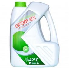 Антифриз GROM-EX G11 -42°C зеленый (5л)