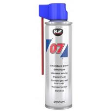 Смазка К2 07 проникающая многофунциональная (250мл)